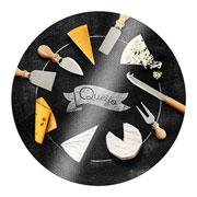 Tabua para queijo blackboard 25 cm