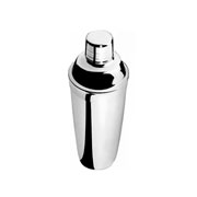 Coqueteleira inox com aparador de gelo 500 ml - Euro