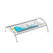 Organizador seca pratos para armario cromado 29x19x8 cm