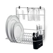 Cook home seca pratos copos e talheres