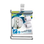 Suporte papel higienico duplo premium