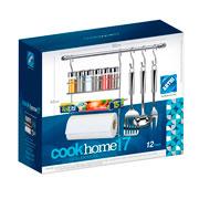 Conjunto cook home kit 17 com 12 peças