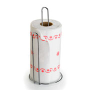Porta rolo de papel toalha Cromado line Art Cook