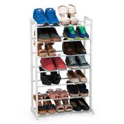 Sapateira organiza para ate 21 sapatos
