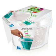 Centrifuga seca salada branco 4.5 litros