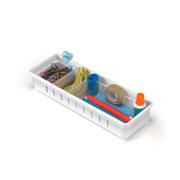 Organizador de gaveta com divisoria 26x12x05 cm