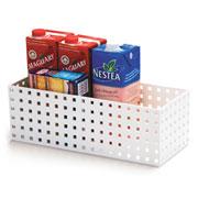 Caixa modular branca 35x14x12 cm
