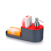 Dispenser detergente by arthi preto e vermelho