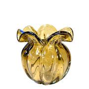 Vaso de Murano Chimera Ambar 13x14 cm