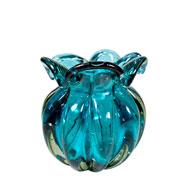 Vaso de Murano Chimera Acqua 13x14 cm