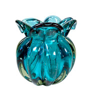 Vaso de Murano Chimera Acqua 15x17 cm
