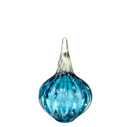 Gota de murano Atarah Acqua 10x16 cm