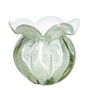 Vaso de Murano Chimera Perola 15x17 cm