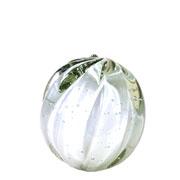 Enfeite de Murano Bola Pitaya Perola 11x12 cm