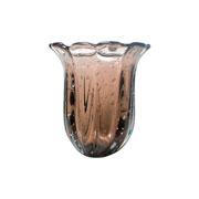 Vaso de murano baobá rubi 29 cm