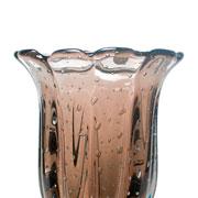 Vaso de murano baobá rubi 39 cm