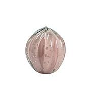 Enfeite de Murano Bola Pitaya Rosa 12x13 cm
