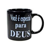 Caneca de cerâmica evangelho você é especial para Deus 300 ml