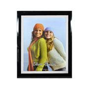 Porta retrato de vidro 20x25 cm