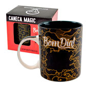 Caneca de ceramica magic realize seus sonhos 300 ml