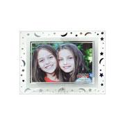 Porta retrato de vidro astros horizontal 15X10cm