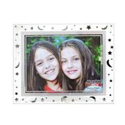 Porta retrato de vidro astros horizontal 20x15cm