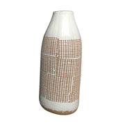 Vaso de cerâmica terroso 40 cm