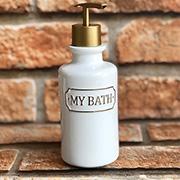 Jogo para banheiro em cerâmica my bath 03 peças