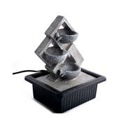 Fonte de resina abstrata bivolt 25 cm