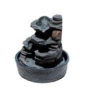 Fonte de resina abstrata bivolt 31 cm