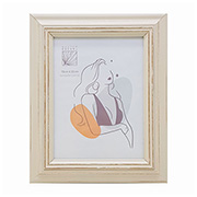 Porta retrato plástico bege 15x20 cm