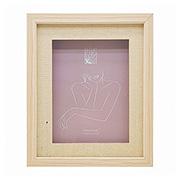 Porta retrato de madeira caixa 15x20 cm