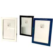 Porta retrato de alumínio colors 10x15 cm