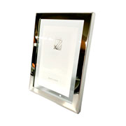Porta retrato inox 15x20 cm