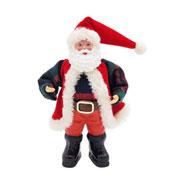 Enfeite Pendente papai Noel 15x04x17 cm