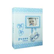 Álbum Bebê azul para 200 fotos 10x15 cm