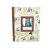 Álbum Journey com visor para 200 fotos 10x15 cm
