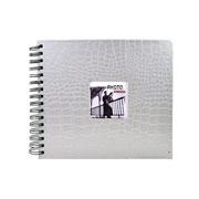 Álbum Scrapbook Prata 15x21 cm