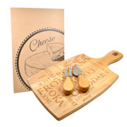Kit de faca para queijo 03 peças