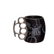 Caneca de cerâmica soco inglês café 350 ml
