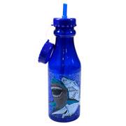 Garrafa com canudo Tubarão 550 ml