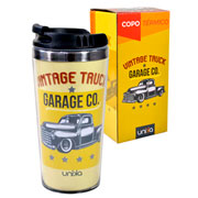 Copo térmico vintage truck garage co 450 ml