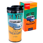 Copo térmico say yes to new adventures 450 ml
