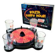 Jogo roleta happy hour com 04 shots