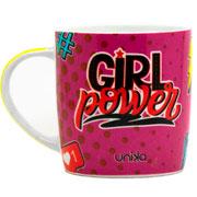 Caneca de cerâmica Girl Power 390 ml