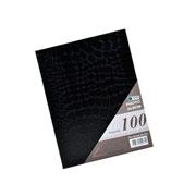 Álbum preto com visor para 100 fotos 10x15 cm