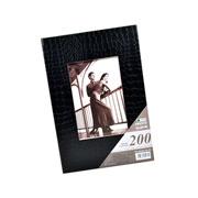 Álbum preto com visor para 200 fotos 10x15 cm
