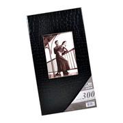 Álbum preto com visor para 300 fotos 10x15