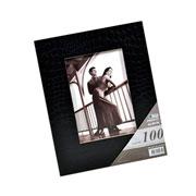 Álbum com visor preto para 100 fotos 15x21 cm
