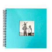 Álbum scrapbook azul 33x30 cm para 20 fotos